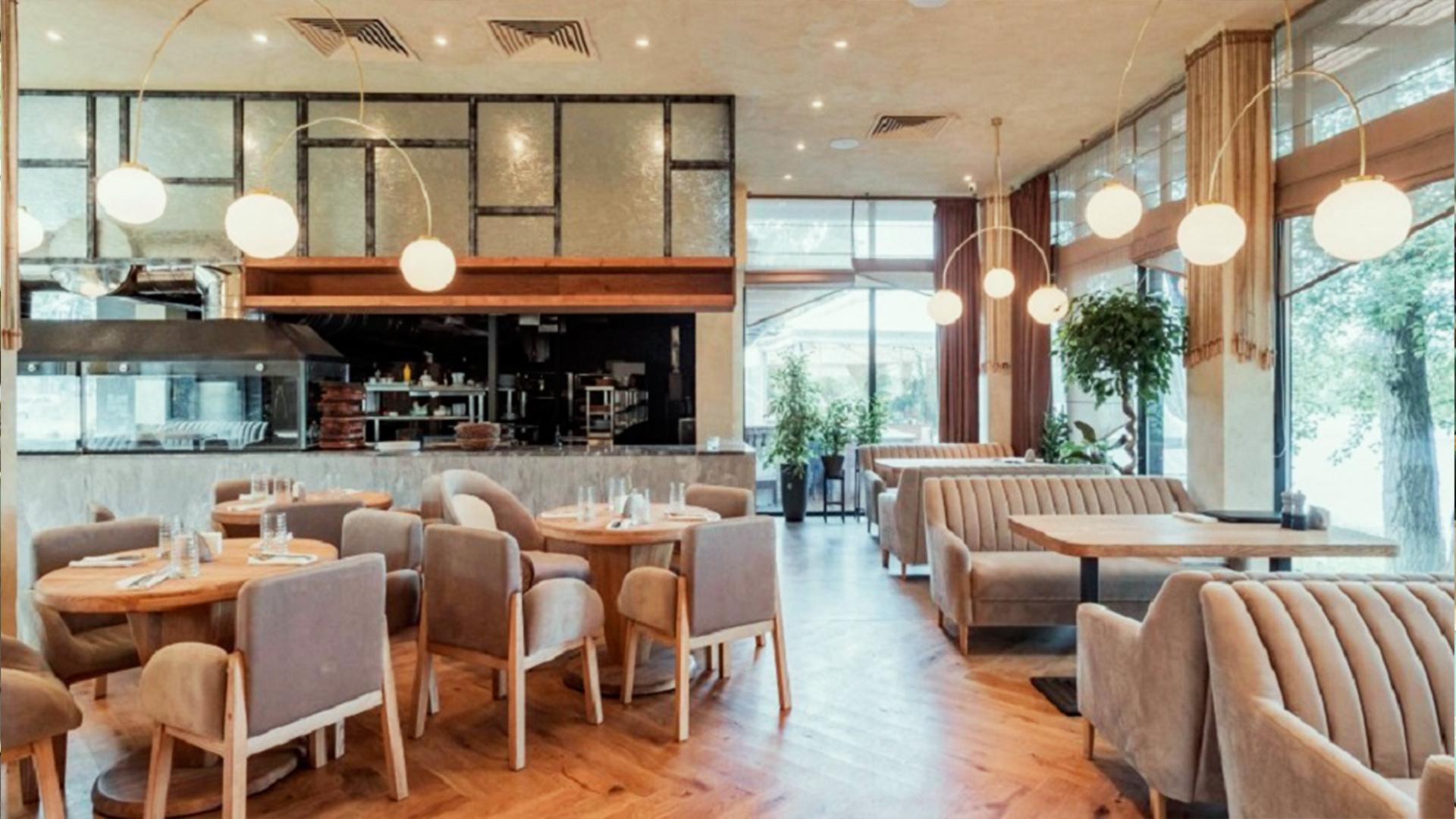 Проект ресторана River Grill, Киев
