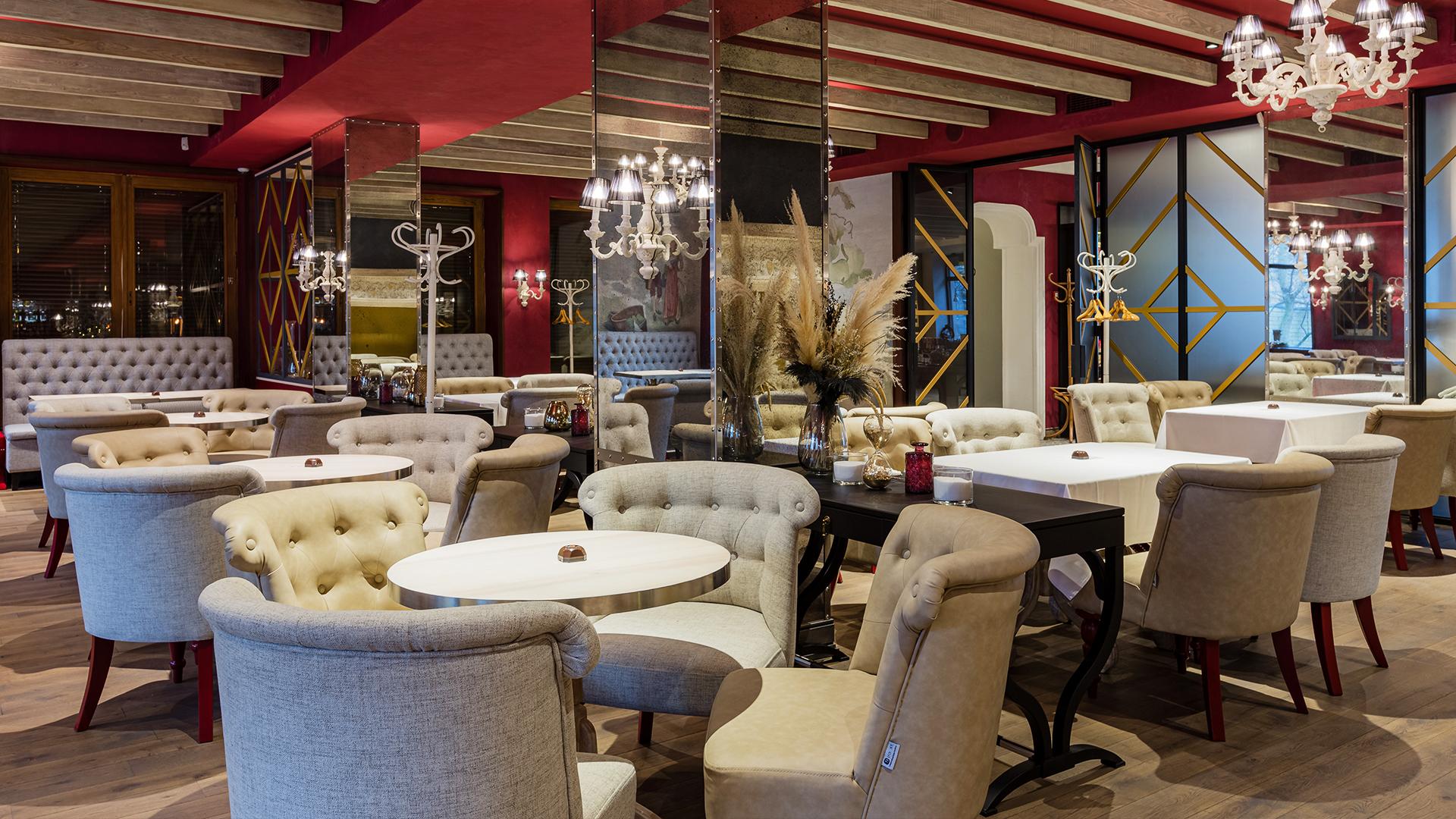 Проект ресторана Saxagansky, Киев