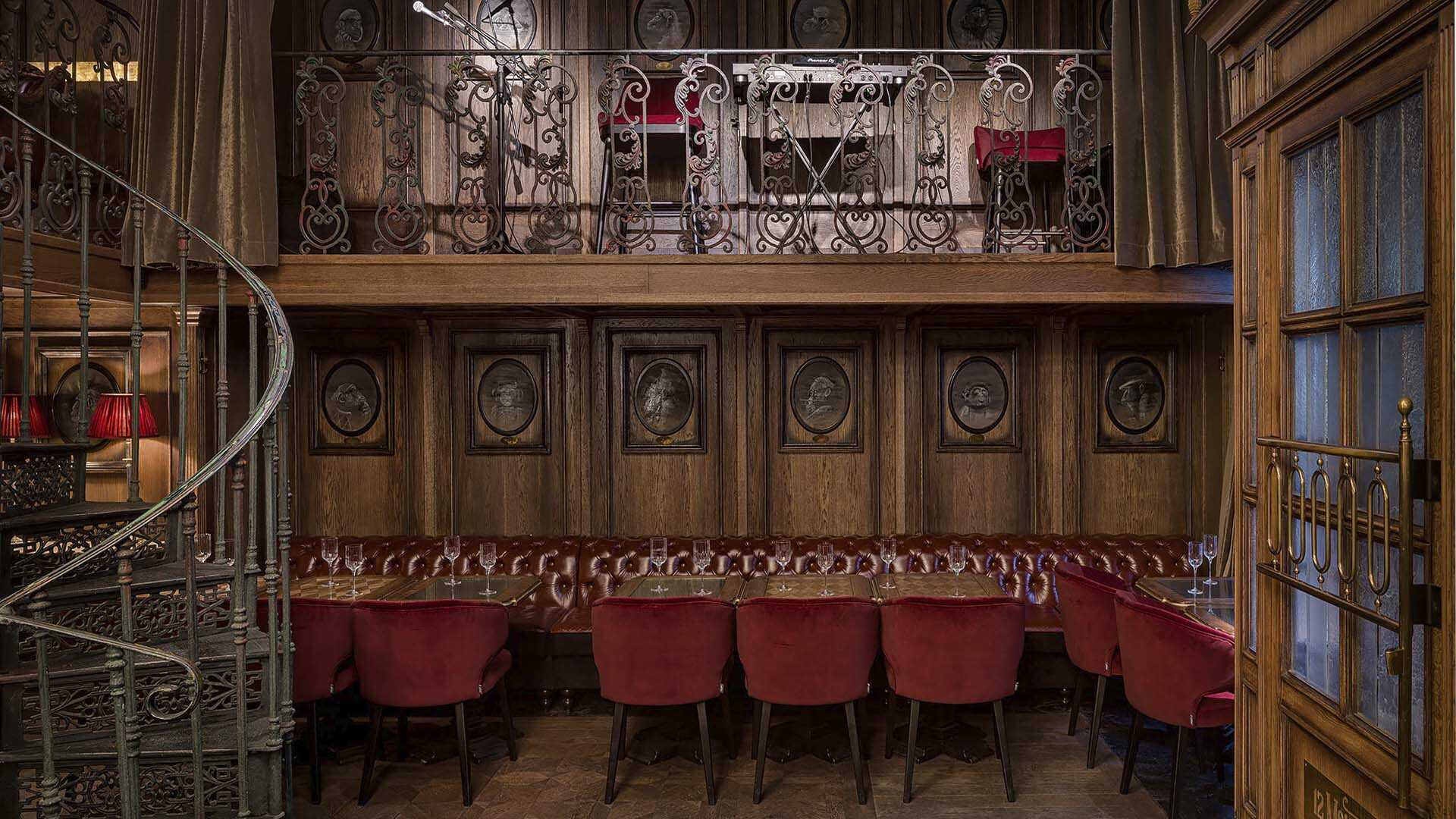 Проєкт ресторан-бару 12 Monkeys, Одеса