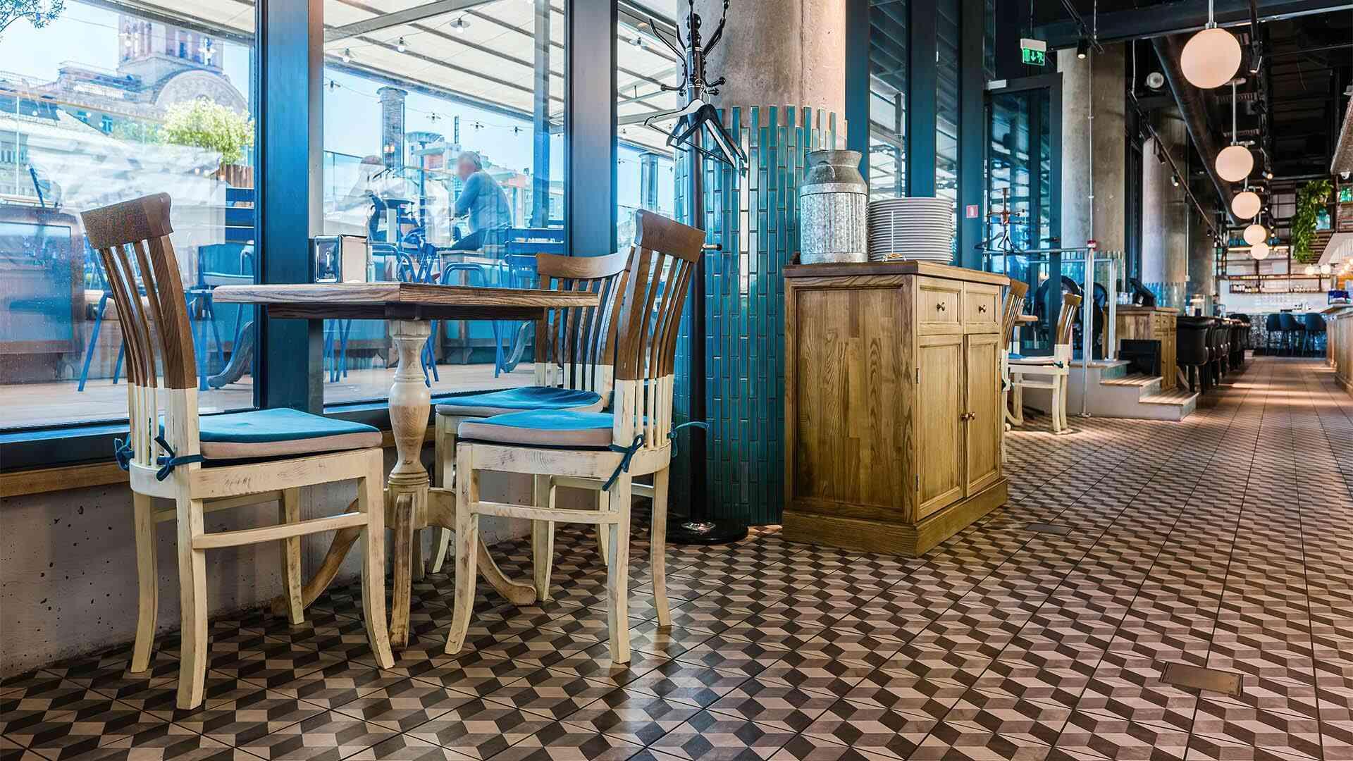 Проект ресторана Milk Bar Tsum, Киев
