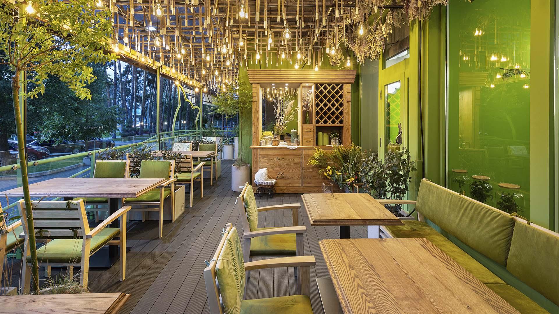 Проект ресторана НеВинный Кот, Ирпень